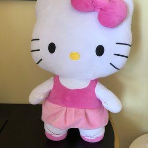 Medium size hello kitty stuffy